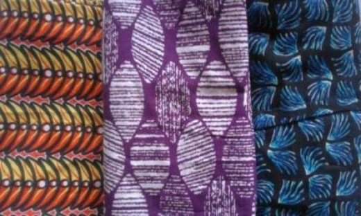 Varieties of Ankara Fabric