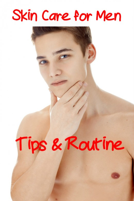 Great skin care tips and routine for men to keep the skin looking its best.