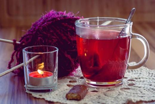 Drink tea instead of coffee