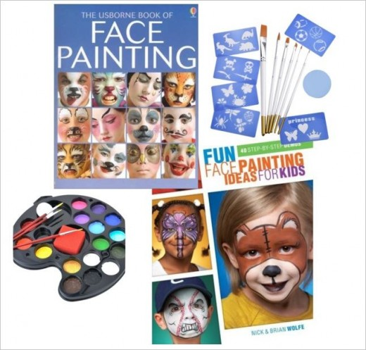 Face Painting to keep the children happy!
