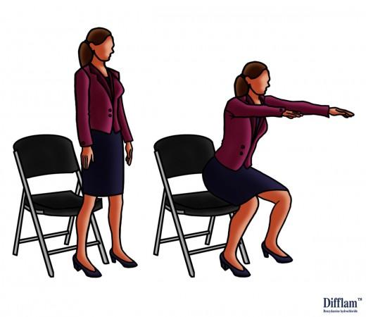 Chair Squats