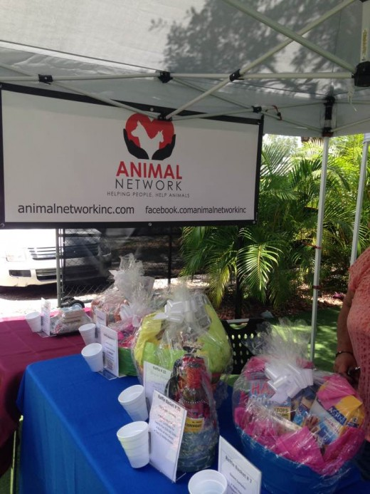 "Animal Network, Inc. and gift baskets to be raffled at ""Yappy Hour"""