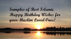 Best Islamic Happy Birthday Wishes in English
