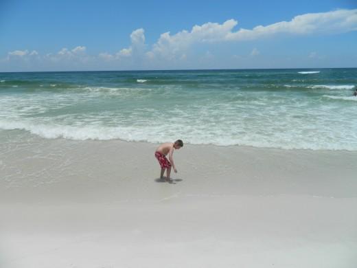 Caleb, meet the ocean.