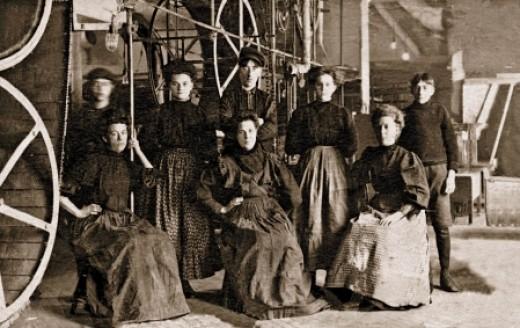 Match Girls at E.B.Eddy's in 1880