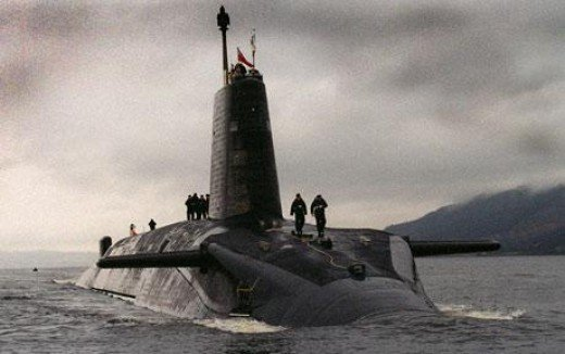 Trident Renewal by English MPs