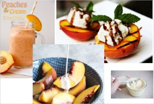Myriad of ways to use the humble peach.