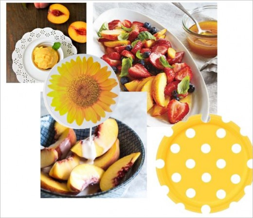 Yellow Dessert Peaches Add Colour To Your Plate.