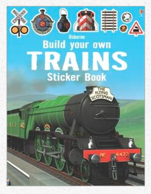 Train Sticker Books