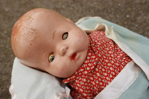 The doll that was loved by two generations of women has nowhere left to go.