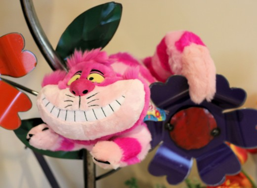 Cheshire Cat toy can be a party mascot and a gift for the mommy-to-be.
