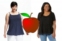 My style tips for real women like me (short, overweight, apple shaped)