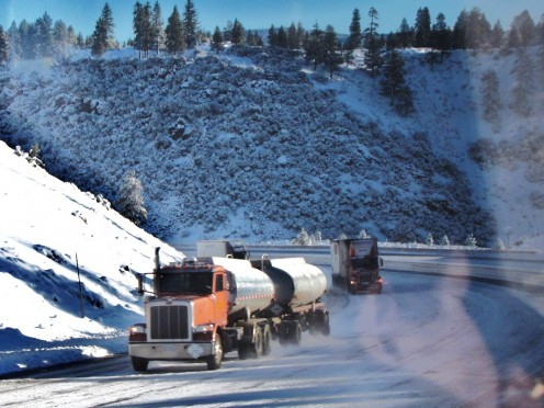 Over-the-road truckers have a lonely job, but an important job