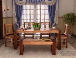Super simple steps to make a basic dining table set