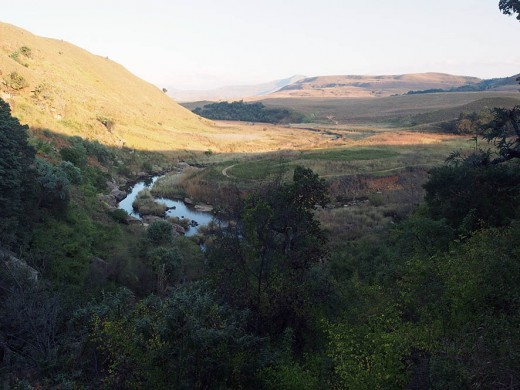 Lovely valley in the Northern Drakensberg Ranges. Photo: Di Robinson