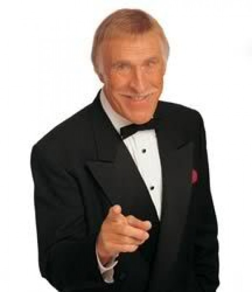 Bruce Forsyth started off as presenter for the show