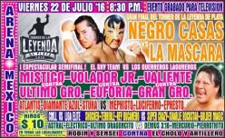 CMLL Super Viernes Preview: Leyenda de Plata