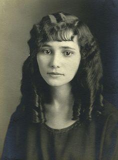 Rosemary in her auburn curls