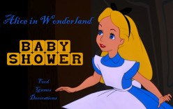How to Throw an Alice in Wonderland Baby Shower
