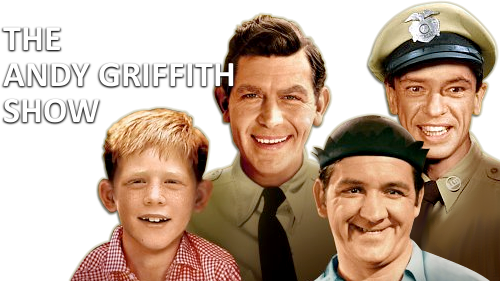 """From left, Ronny Howard, """"Opie,"""", Andy Griffith, """"Andy Taylor,"""" Don Knotts, """"Barney Fife,"""" and George Lindsey, """"Goober"""""""