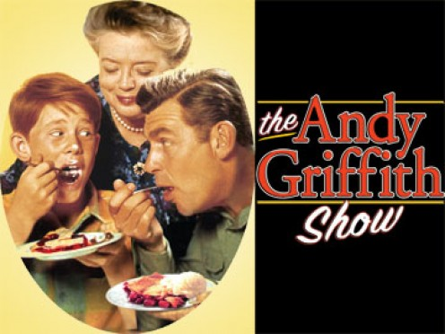 A promotional graphic for the Andy Griffith Show