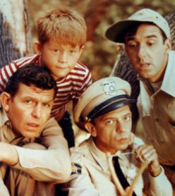 Andy, Opie, Gomer, Barney