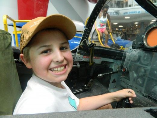 Caleb in the F-4 Phantom