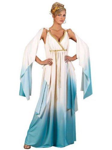 You can be any of Hercules' lovers and/or wives with this Greek costume. You can be the goddess Hebe, the queen/princess Omphale, etc