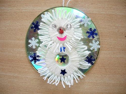 52 beautiful cd craft ideas hubpages for Christmas arts and crafts for adults