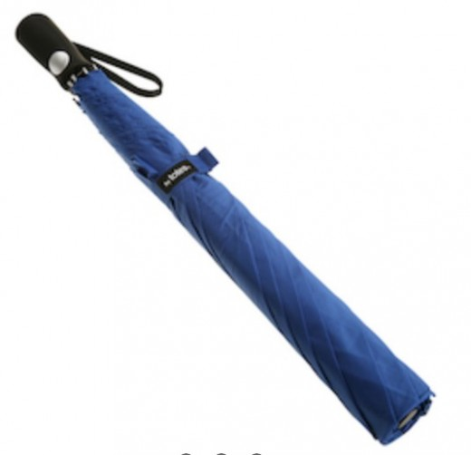 A folded Golf umbrella