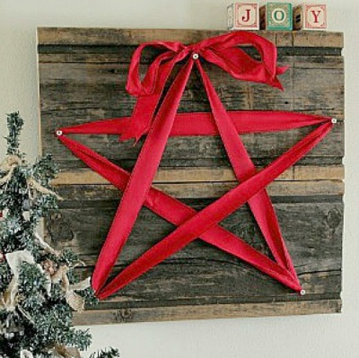 66 rustic christmas crafts feltmagnet for Wood crafts to make for christmas