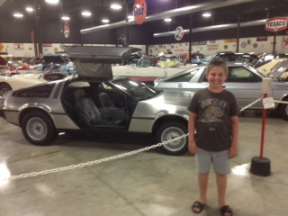 Great Scott! It's Caleb and Doc's DeLorean!