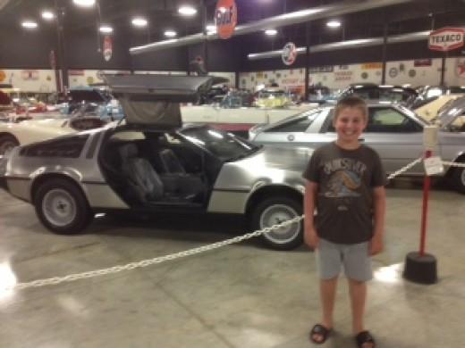Great Scott! It's Caleb and Doc's DeLorean!
