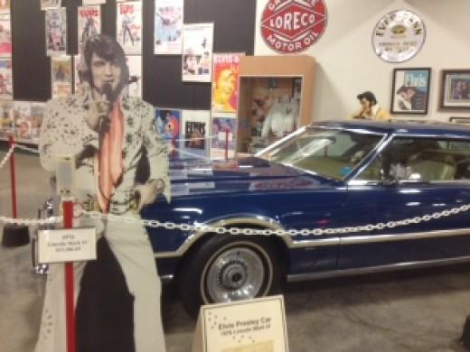 Elvis Presley's Lincoln Continental