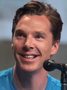 Benedict Cumberbatch plays Khan in into darkness (wikipedia)