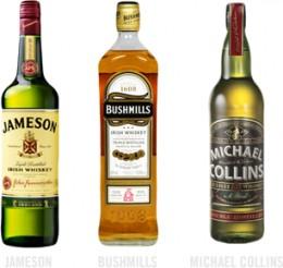 Jameson's, Bushmills, Michael Collins