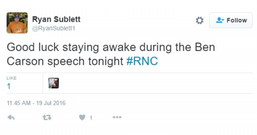 Before the speech, it was touted to be a snooze fest from many Twitter handles.