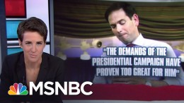 During the primaries, Donald Trump and Marco Rubio had a viral and well known spat at a GOP Debate - where they both flung mud at the other.