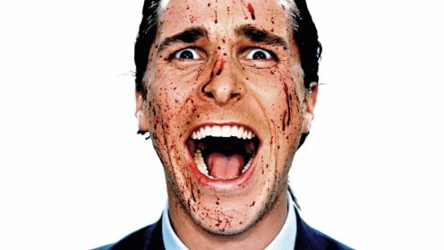 "Christian Bale's work in ""American Psycho,"" proves how much we Americans love blood"