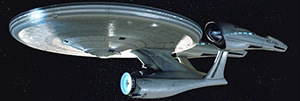 The Enterprise in all her splendor...
