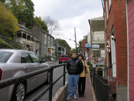 A street in Harpers Ferry