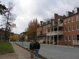 The block with John Brown's Museum