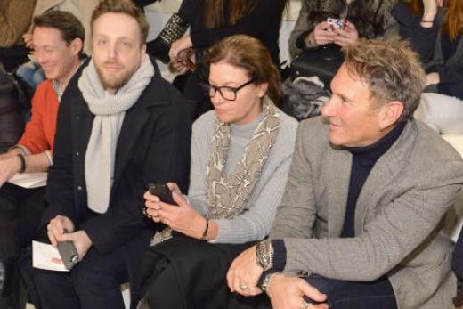 Ariel Foxman at Ralph Lauren's New York Fashion Week