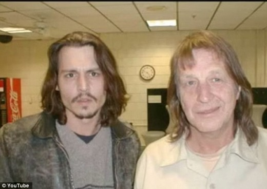 Johnny Depp with George Jung