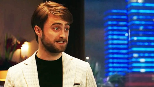 Daniel Radcliffe as the negative lead.
