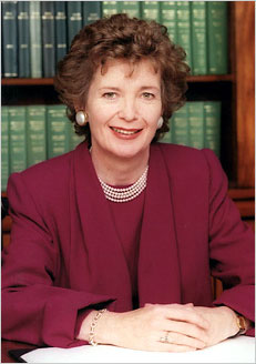 "First female president of Ireland, 1990 to 1997.  Tell this to Mary Robinson:  ""as far as history goes /