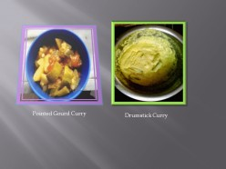 Recipes Of Two Vegetarian Curries