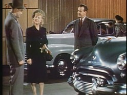 This is how car salesmen dressed in 1948. They dressed for success and gaining the confidence of their customers