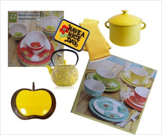 Primary Colours Are Ideal For Your Tableware.
