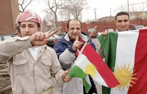 Kurdish people whose fighters have been a thorn in the side of IS.